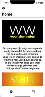 startscherm app